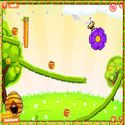 Funny bees - flower game